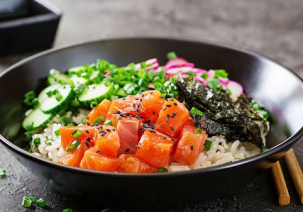 Clean Eating Poke Bowl